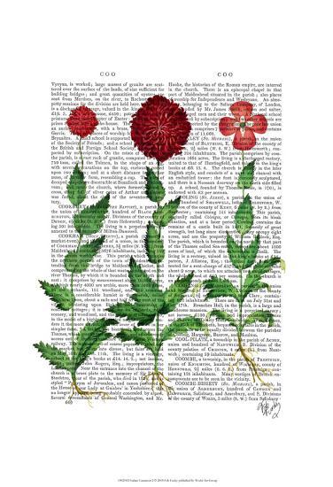 Italian Carnation 2-Fab Funky-Art Print