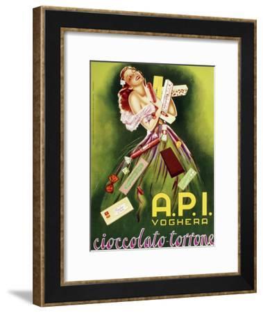 Italian Chocolate--Framed Giclee Print