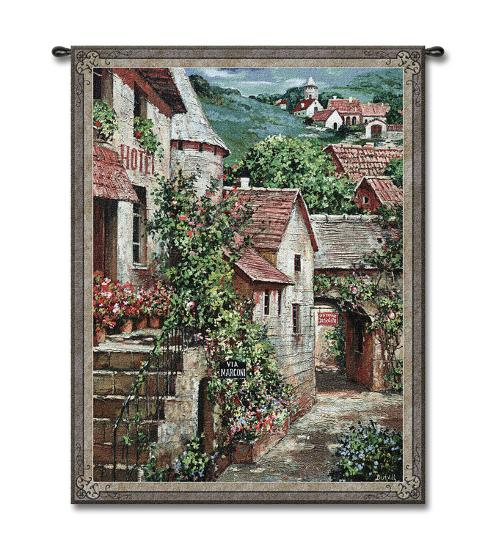 Italian Country I-Roger Duvall-Wall Tapestry