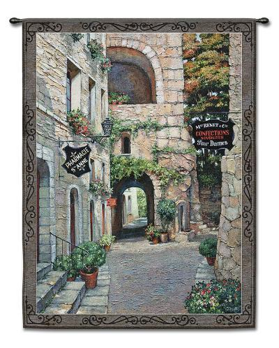 Italian Country II-Roger Duvall-Wall Tapestry