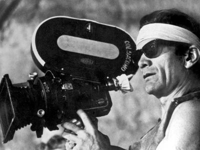 Italian Director Pier Paolo Pasolini on Set of Film Canterbury Tales 1972--Photo