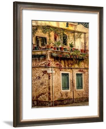 Italian Garden-Danny Head-Framed Art Print