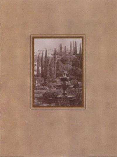 Italian Gardens II--Art Print