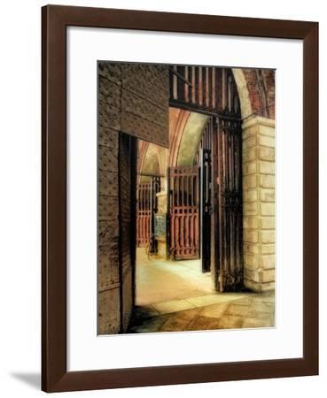 Italian Gateway-Danny Head-Framed Giclee Print