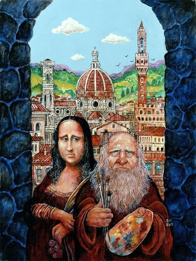 Italian Gothic-Bill Bell-Giclee Print