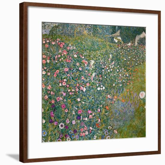Italian Horticultural Landscape, 1913-Gustav Klimt-Framed Giclee Print