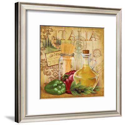 Italian Kitchen II-Conrad Knutsen-Framed Art Print