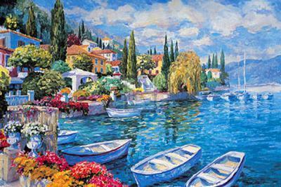 Italian Lakes II-Julian Askins-Art Print