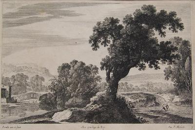 Italian Landscape, Mid 17th Century-Gabriel Perelle-Giclee Print