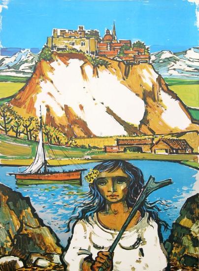Italian Landscape-Jorge Dumas-Collectable Print