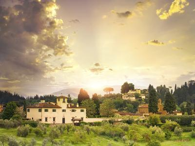 Italian Landscape-Dmytro Tokar-Photographic Print