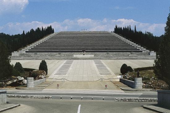 Italian Military Sacrarium of Redipuglia--Photographic Print