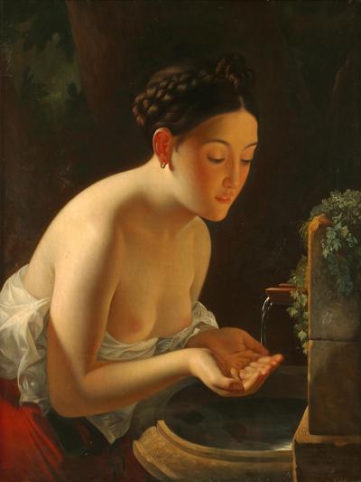 Italian Morning-Karl Pavlovich Briullov-Giclee Print