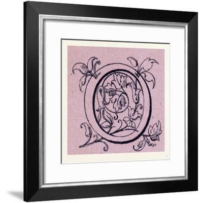 Italian Ornament--Framed Giclee Print