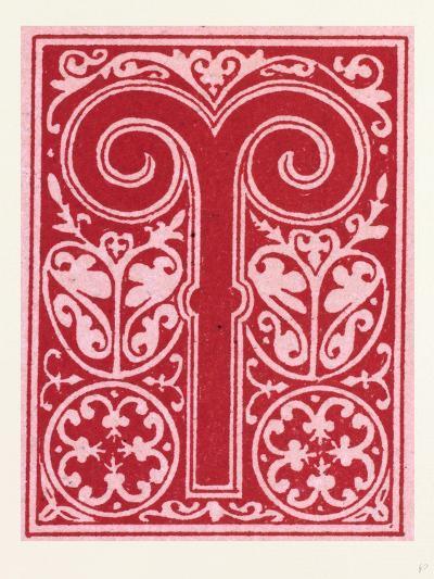 Italian Ornament--Giclee Print