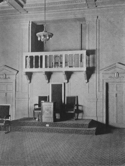 Italian Renaissance detail in the Lodge Room of the Masonic Temple, Birmingham, Alabama, 1924-Unknown-Photographic Print