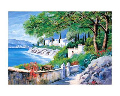 Italian River III-V^ Lopasso-Art Print
