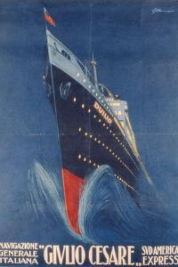 Poster Advertising the 'Giulio Cesare' by Italian School