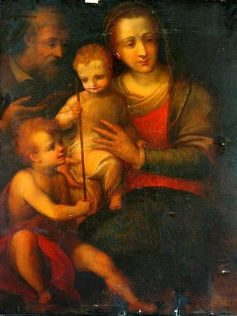 The Holy Family And St John, 1501