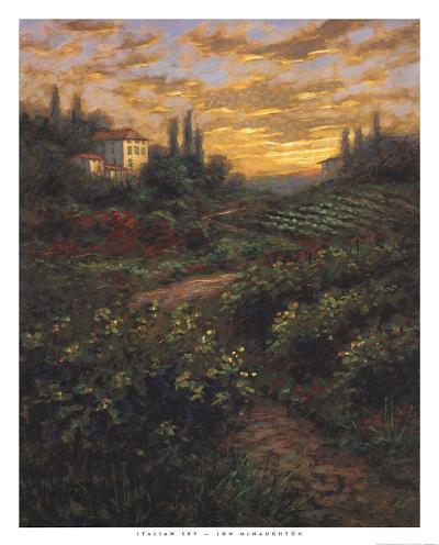 Italian Sky-Jon McNaughton-Art Print