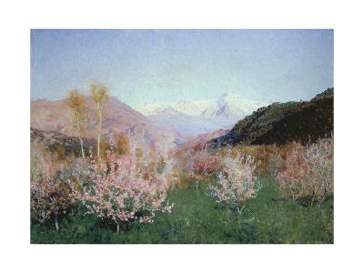 Italian Spring Landscape, 1890-Isaak Iljitsch Lewitan-Giclee Print