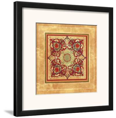 Italian Tile V-Paula Scaletta-Framed Art Print