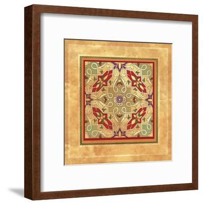 Italian Tile VI-Paula Scaletta-Framed Art Print