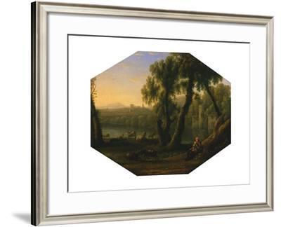 Italianate Landscape, C.1636--Framed Giclee Print