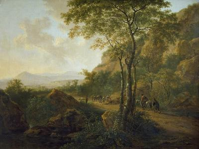 Italianate Landscape with Muleteers-Jan Both-Giclee Print