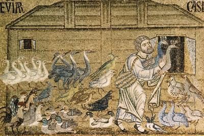 Italiy. Venice. Saint Mark's Basilica. Noah's Ark. Mosaic. 12th-14th Centuries--Giclee Print