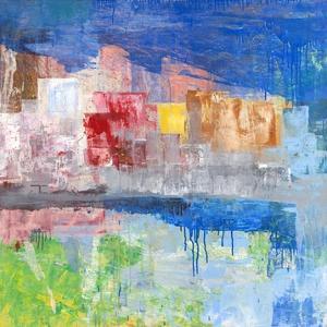 Villaggio sul lago by Italo Corrado