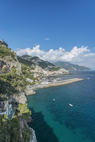Italy, Amalfi Coast, Amalfi Town-Rob Tilley-Photographic Print