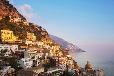 Italy, Amalfi Coast, Salerno Province. View of Positano.-Ken Scicluna-Photographic Print