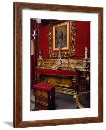 Italy, Apulia, Gravina in Puglia, Pomarici Santomasi Foundation, Family Chapel--Framed Giclee Print
