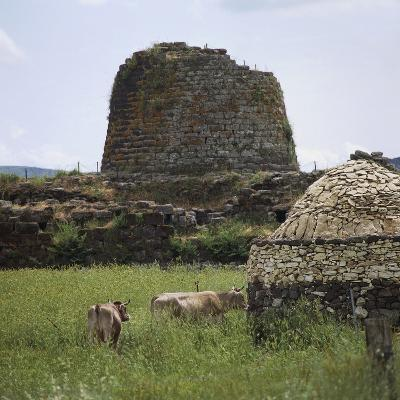 Italy, Archaeological Complex of Nuraghe Sant'Antine or Sa Domo De Su Re--Photographic Print