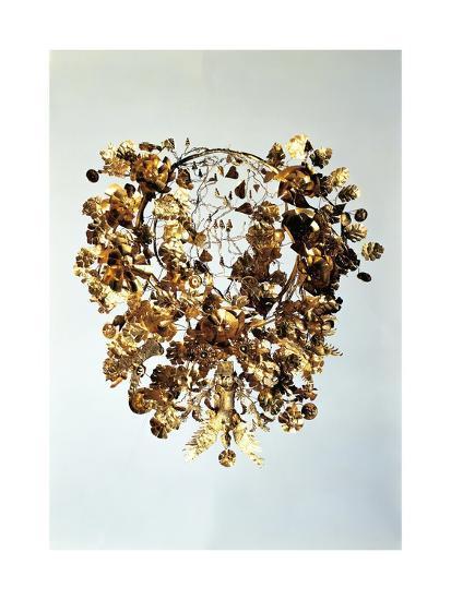 Italy, Basilicata, Armento, Golden Crown--Giclee Print