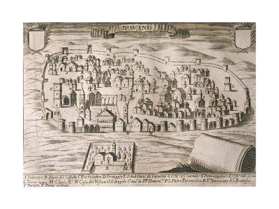 Italy, Bovino--Giclee Print