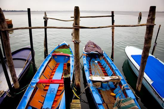 Italy, Burano. Moored boats.-Jaynes Gallery-Photographic Print