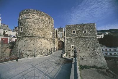 Italy, Calabria Region, Old Castle of Pizzo--Giclee Print