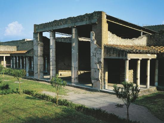 Italy, Campania, Oplonti, Archaeological Area of Torre Annunziata, Roman Villa Poppaea BC--Giclee Print