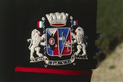 Italy, Corazzieri Emblem of the Regiment at Cuirassiers Gala--Giclee Print
