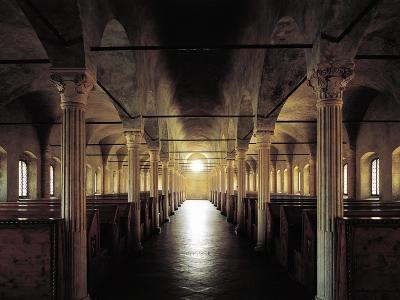 Italy, Emilia-Romagna, Cesena, Malatesta Library, Nuti's Hall, Designed by Matteo Nuti, 1447-1454--Giclee Print