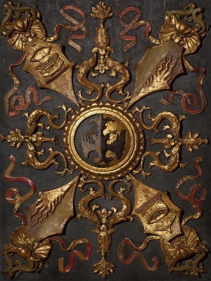 Italy, Emilia-Romagna, Ferrara, Palazzo Schifanoia, Hall of Virtue Decoration--Giclee Print