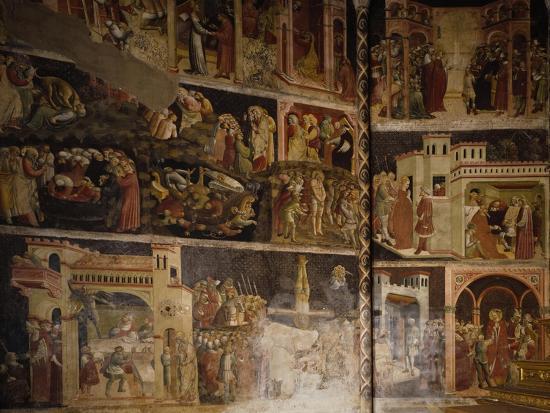 Italy, Emilia-Romagna, Parma, Cathedral of Santa Maria Assunta, Valeri Chapel Frescoes, 1423-1426--Giclee Print