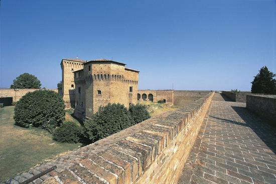 Italy, Emilia-Romagna Region, Castle Malatestiana in Cesena--Giclee Print