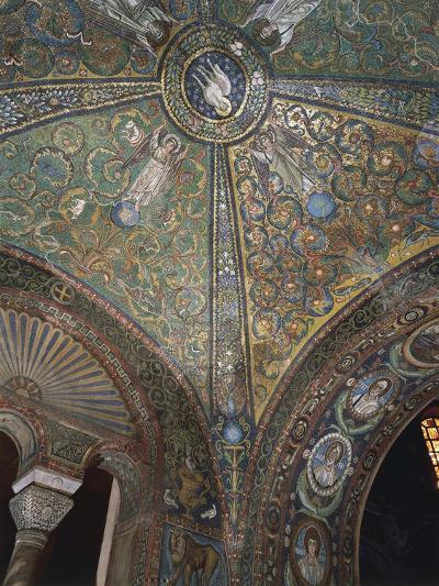 Italy, Emilia Romagna Region, Mosaic in Basilica of San Vitale--Giclee Print
