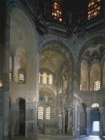 Italy, Emilia Romagna Region, Ravenna, Presbytery and Apse with Mosaics in Basilica of San Vitale--Giclee Print