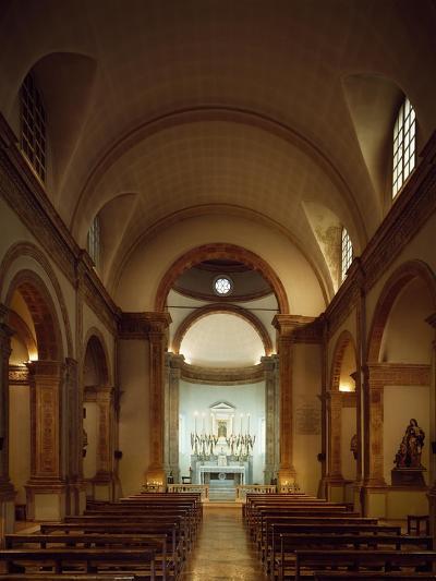 Italy, Emilia-Romagna, Rimini, Church of Colonnella, Central Nave, Renaissance--Giclee Print