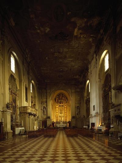 Italy, Emilia-Romagna, Rimini, Interior of Church of Saint Augustine--Giclee Print