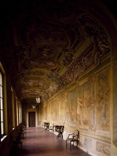 Italy, Emilia-Romagna, Rocca Meli-Lupi of Soragna, Gallery--Giclee Print